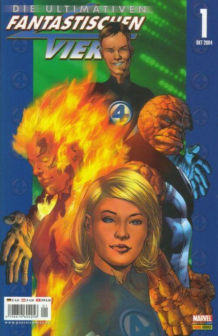 Die Ultimativen Fantastischen Vier - Das Cover