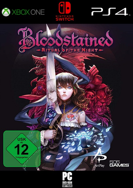 Bloodstained - Ritual of the Night - Der Packshot