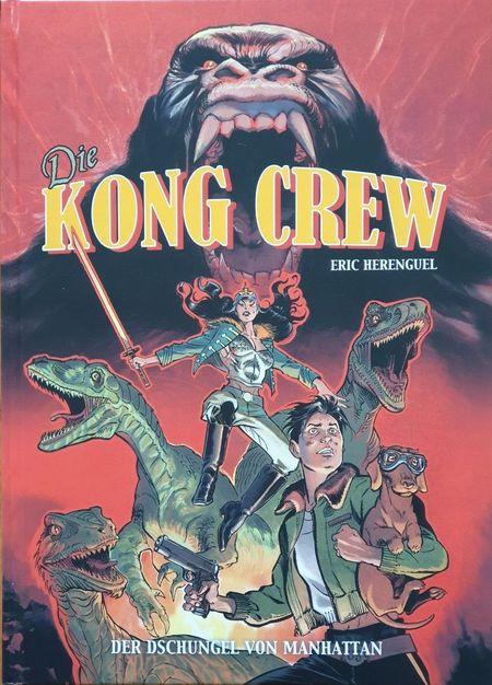Die Kong Crew 1 - Das Cover