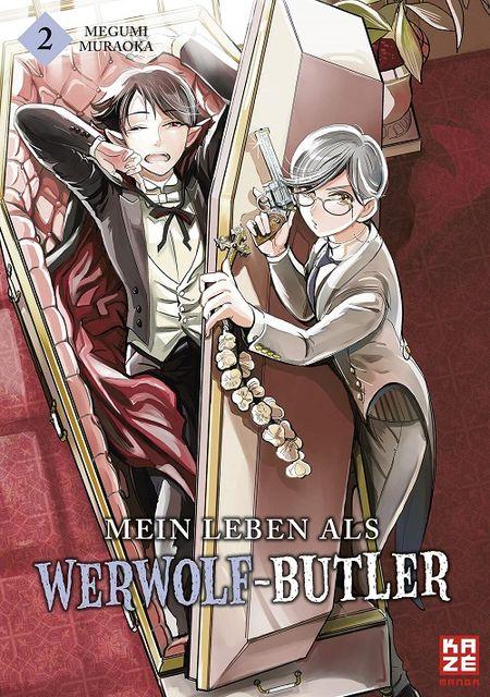 Mein Leben als Werwolf-Butler 2 - Das Cover