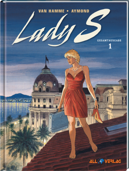 Lady S. Gesamtausgabe 1 - Das Cover