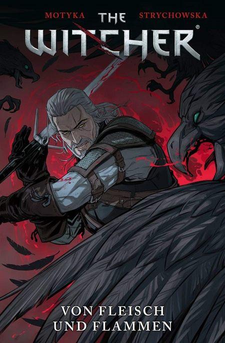 The Witcher 4: Von Fleisch und Flammen - Das Cover