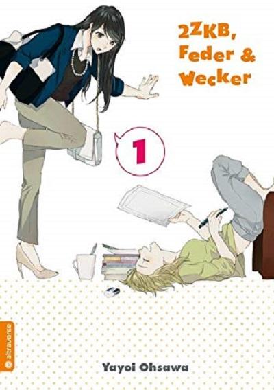 2 ZKB, Feder & Wecker 1 - Das Cover