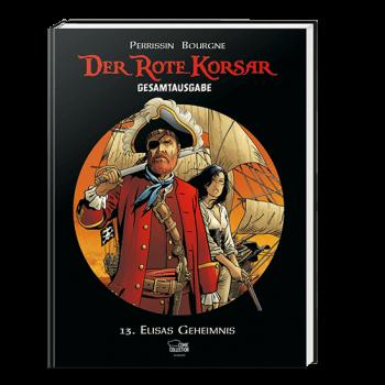 Der rote Korsar Gesamtausgabe 13: Elisas Geheimnis - Das Cover