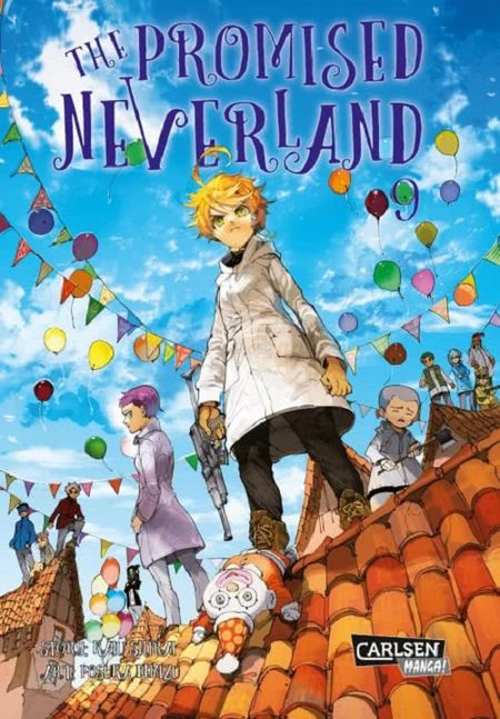 The Promised Neverland 9 - Das Cover