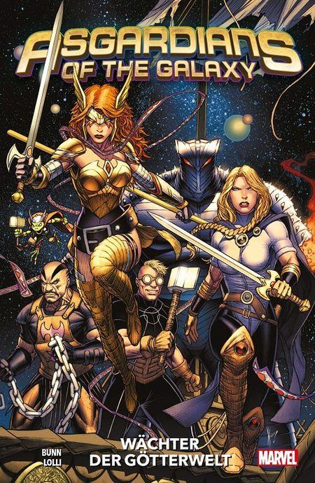 Asgardians of the Galaxy 1: Wächter der Götterwelt  - Das Cover