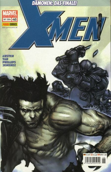 X-Men 46 - Das Cover