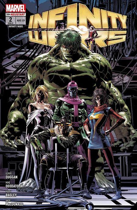 Infinity Wars 2: Die finale Entscheidung  - Das Cover