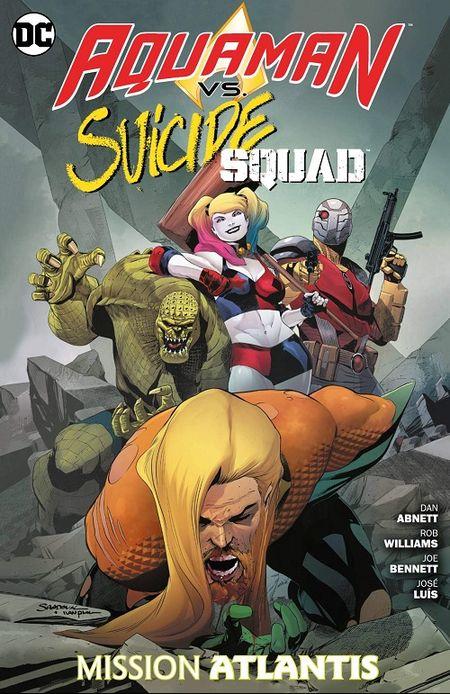 Aquaman vs. Suicide Squad: Mission Atlantis - Das Cover