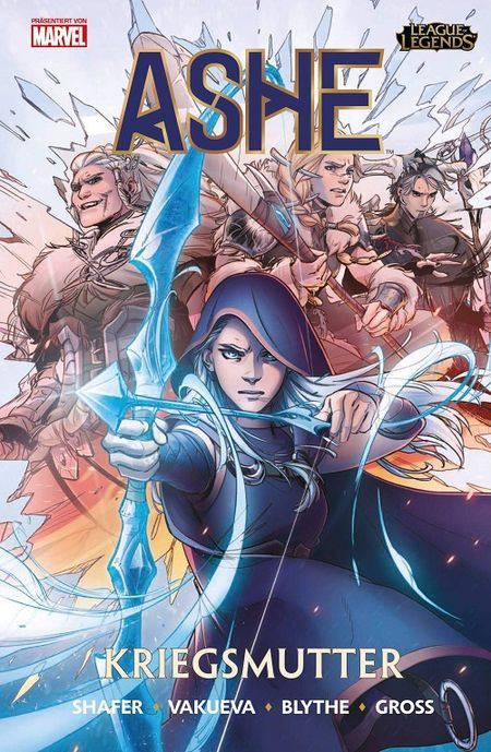 League of Legends: Ashe – Kriegsmutter 1  - Das Cover