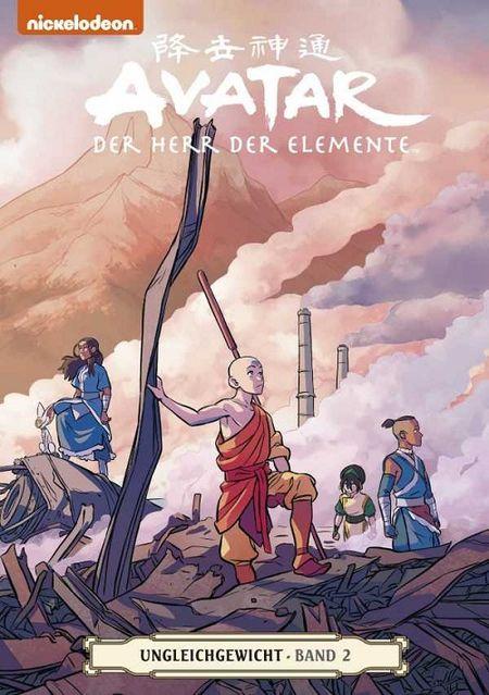 Avatar – Der Herr der Elemente 18: Ungleichgewicht 2 - Das Cover