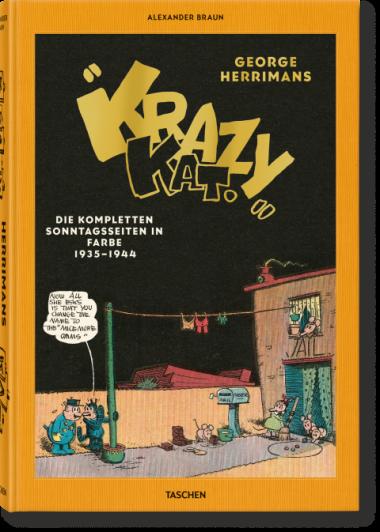 Krazy Kat. Die kompletten Sonntagsseiten in Farbe 1935-1944 - Das Cover