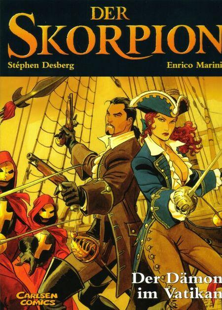 Der Skorpion 4 - Das Petruskreuz - Das Cover