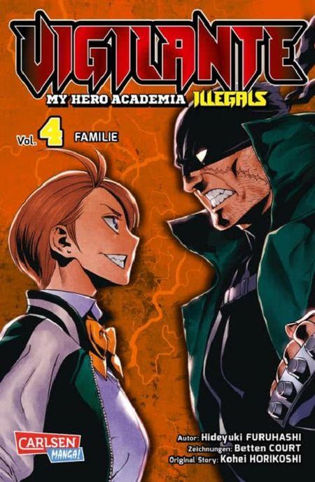 Vigilante – My Hero Academia Illegals 4 - Das Cover
