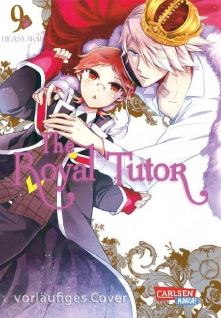 The Royal Tutor 9 - Das Cover