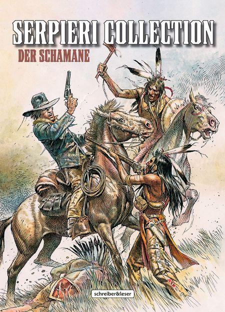 Serpieri Collection – Western – 2. Der Schamane - Das Cover