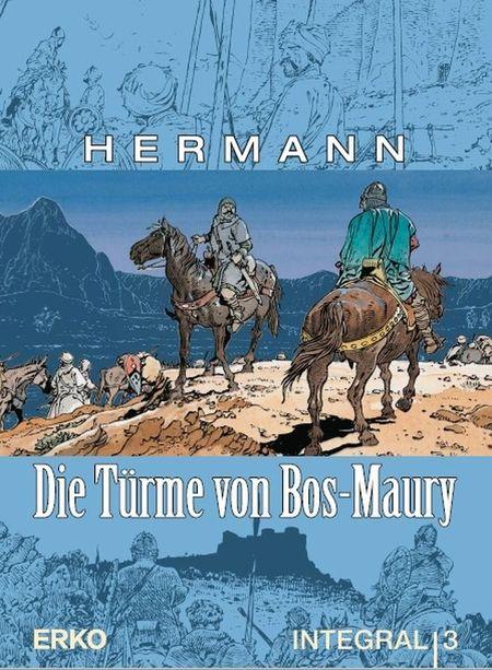 Die Türme von Bos-Maury – Integral 3 - Das Cover