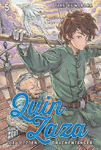 Quin Zaza – Die letzten Drachenfänger 5 - Das Cover