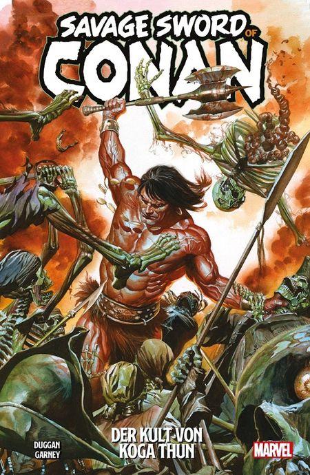 Savage Sword of Conan: Der Kult von Koga Thun - Das Cover