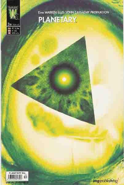 Planetary 20 - Das Cover