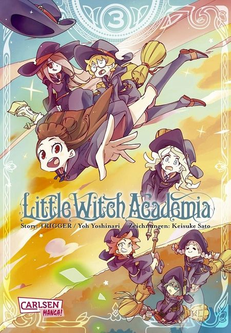 Little Witch Academia - Das Cover