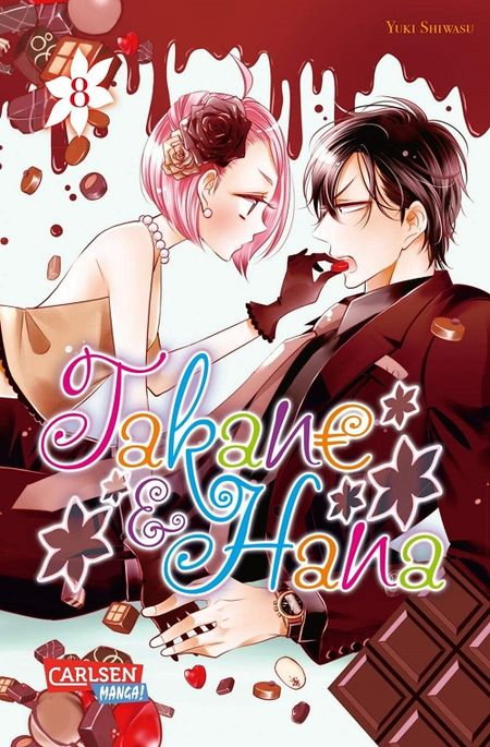 Takane & Hana 8 - Das Cover