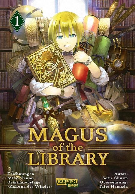 Magus of the Library 1 - Das Cover