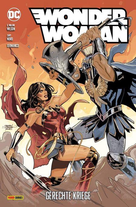 Wonder Woman 9: Gerechte Kriege - Das Cover
