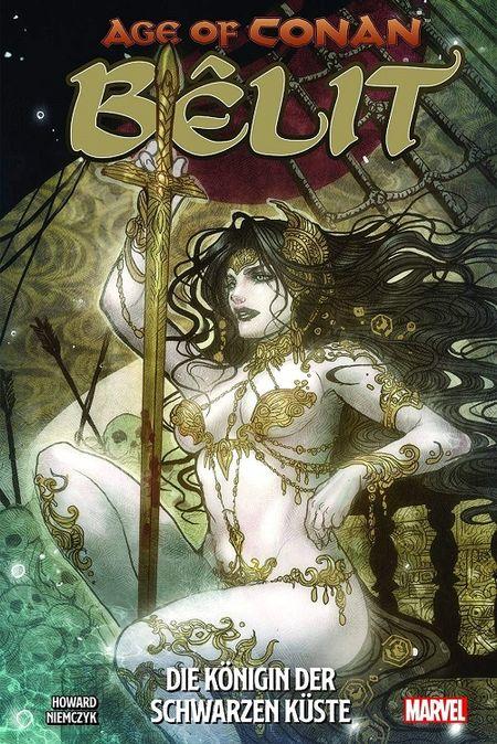 Age of Conan 1: Belit – Die Königin der Schwarzen Küste - Das Cover