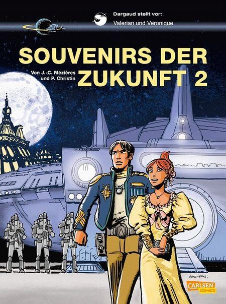 Valerian und Veronique 23: Souvenirs der Zukunft  - Das Cover