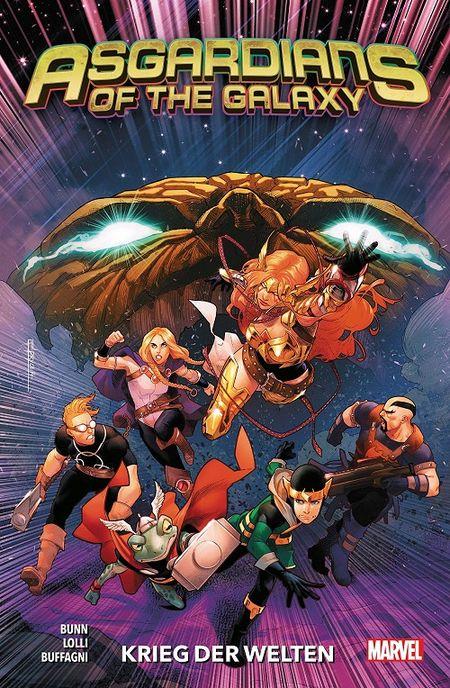 Asgardians of the Galaxy 2: Krieg der Welten - Das Cover