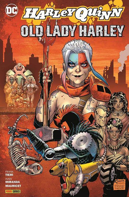 Harley Quinn: Old Lady Harley  - Das Cover