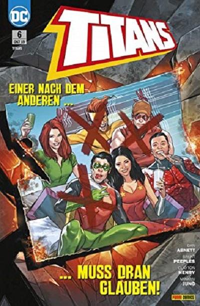Titans 6: Verluste und Geheimnisse - Das Cover