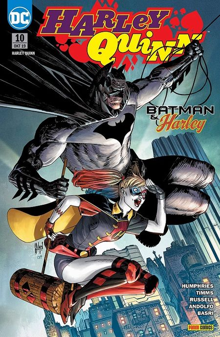 Harley Quinn 10: Batman & Harley  - Das Cover