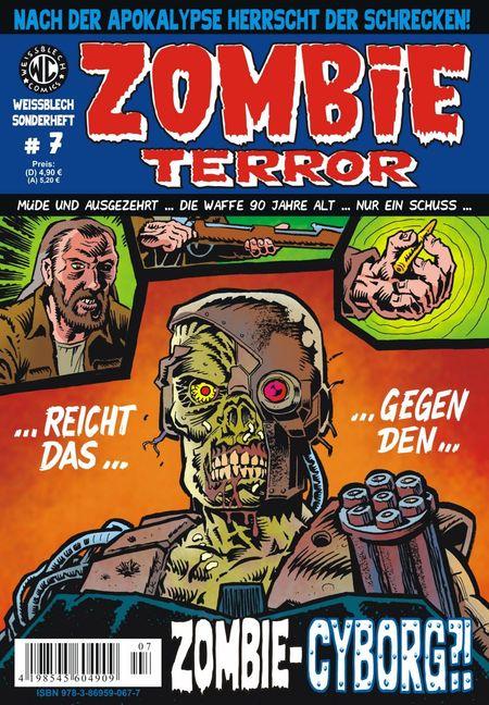 Weißblech Sonderheft 7 – Zombie Terror - Das Cover