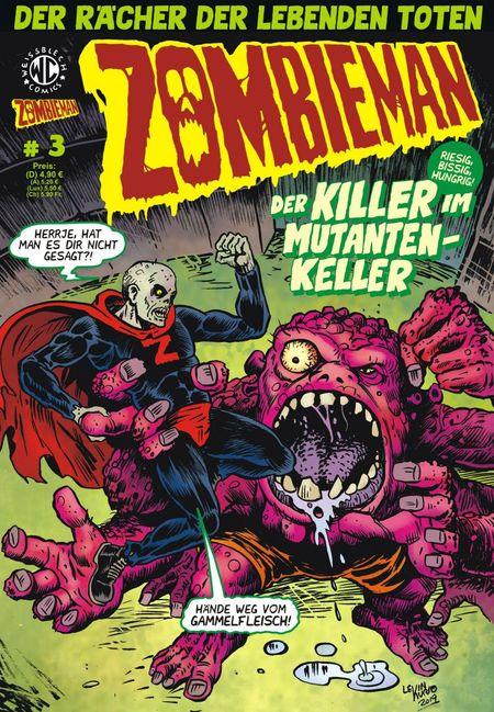 Zombieman 3 - Das Cover
