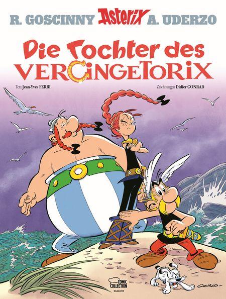 Asterix 38 – Die Tochter des Vercingetorix - Das Cover