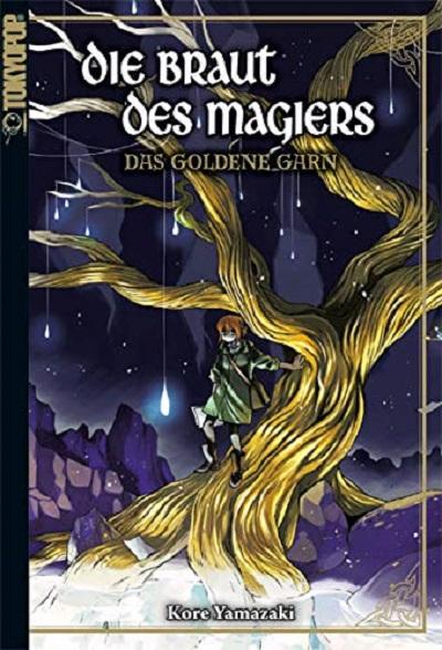 Die Braut des Magiers: Das goldene Garn - Das Cover