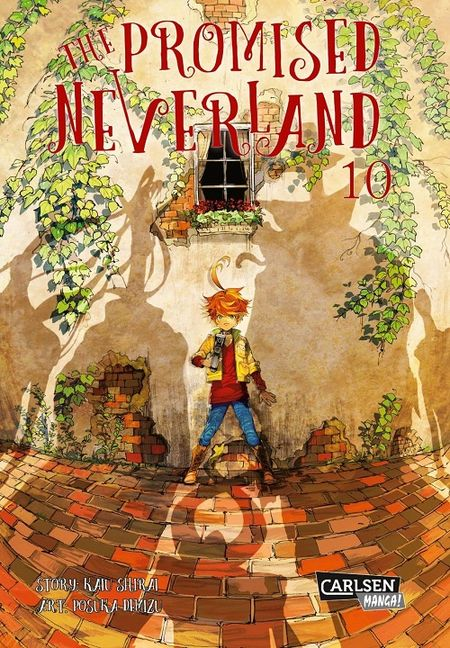 The Promised Neverland 10 - Das Cover