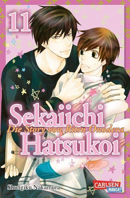 Sekaiichi Hatsukoi 11 - Das Cover