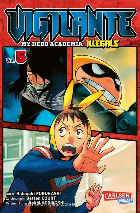 Vigilante – My Hero Academia Illegals 5 - Das Cover