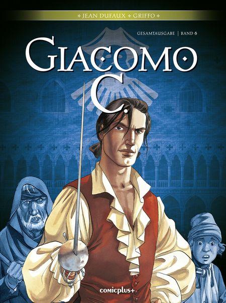 Giacomo C. – Gesamtausgabe Band 6 - Das Cover