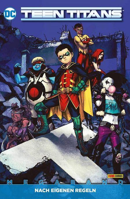 Teen Titans 2: Nach eigenen Regeln  - Das Cover