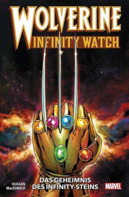 Wolverine – Infinity Watch: Das Geheimnis der Infinity-Steine - Das Cover