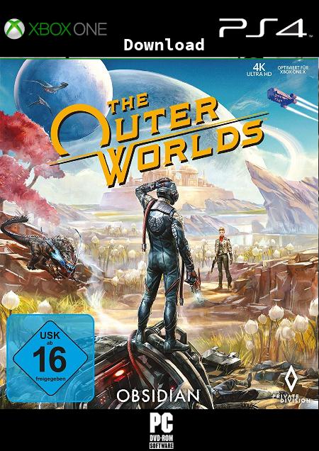 The Outer Worlds - Der Packshot