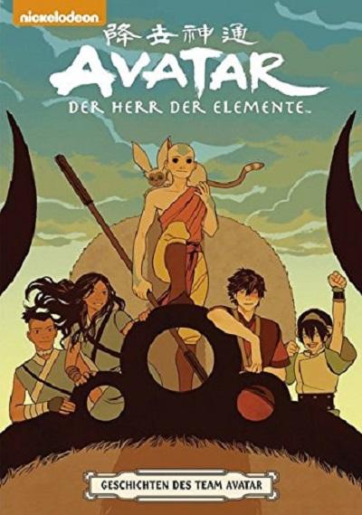 Avatar - Der Herr der Elemente: Geschichten des Team Avatar - Das Cover