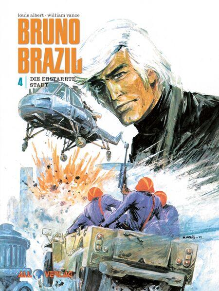 Bruno Brazil 4 - Das Cover
