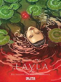 Layla: Die Legende der blutroten Sümpfe - Das Cover