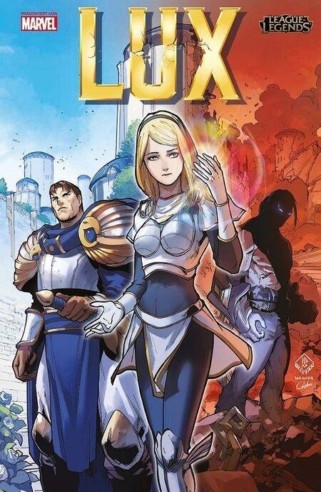 League of Legends: Lux - Das Cover