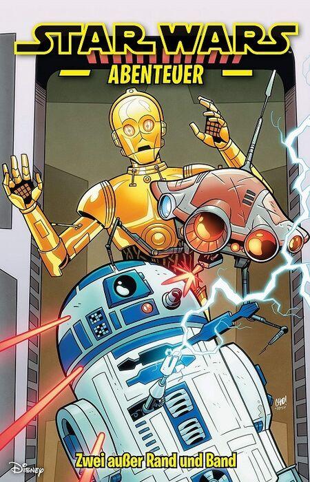 Star Wars Abenteuer 6: Zwei außer Rand und Band  - Das Cover